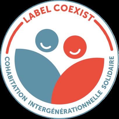 Label Coexist -Cohabitation Intergénérationnelle Solidaire
